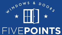 Five Points Windows + Doors - Logo