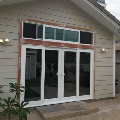 Patio Door w/transom